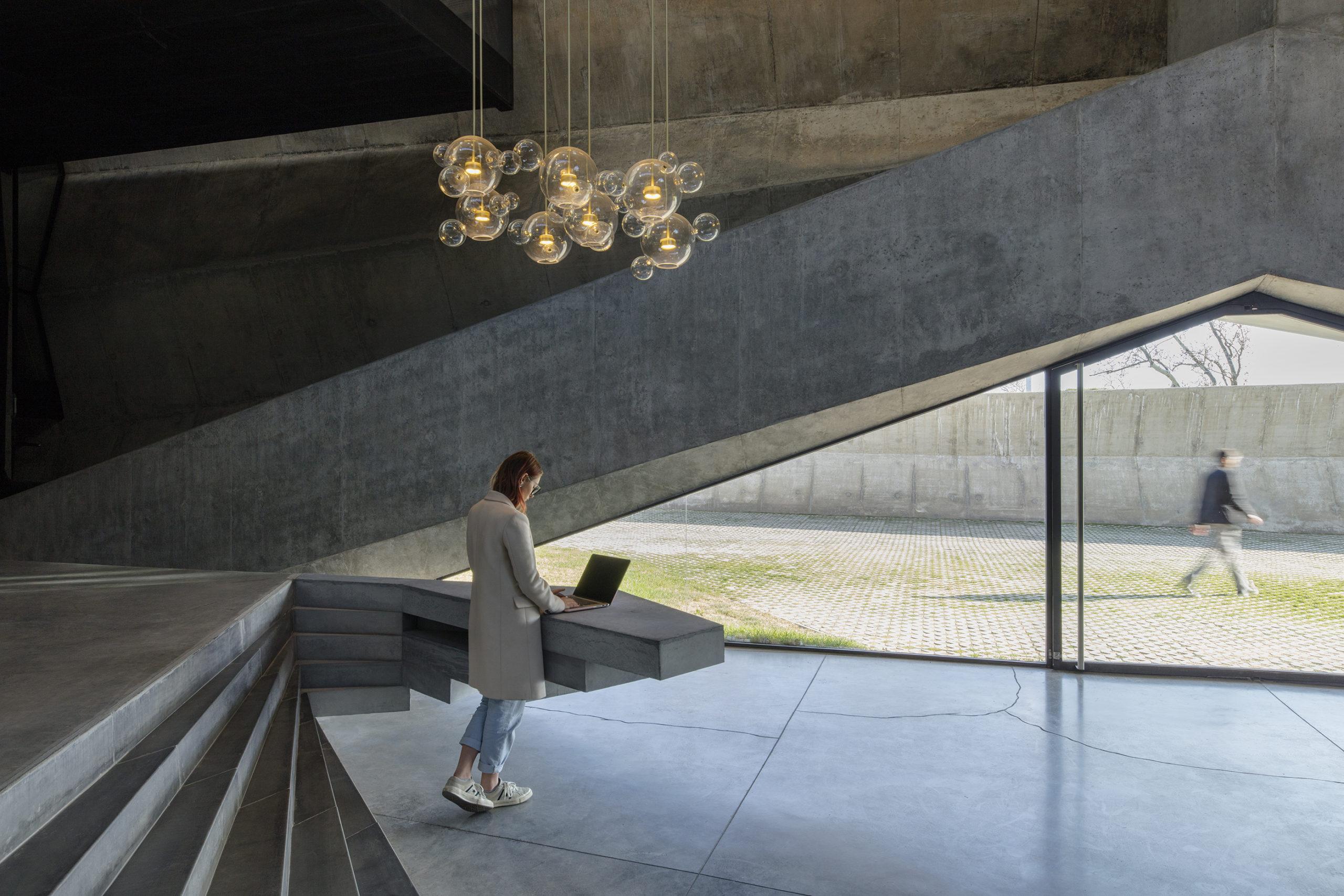 Installation de production de café Meama, Khmaladze Architects, Tibilisi, Géorgie