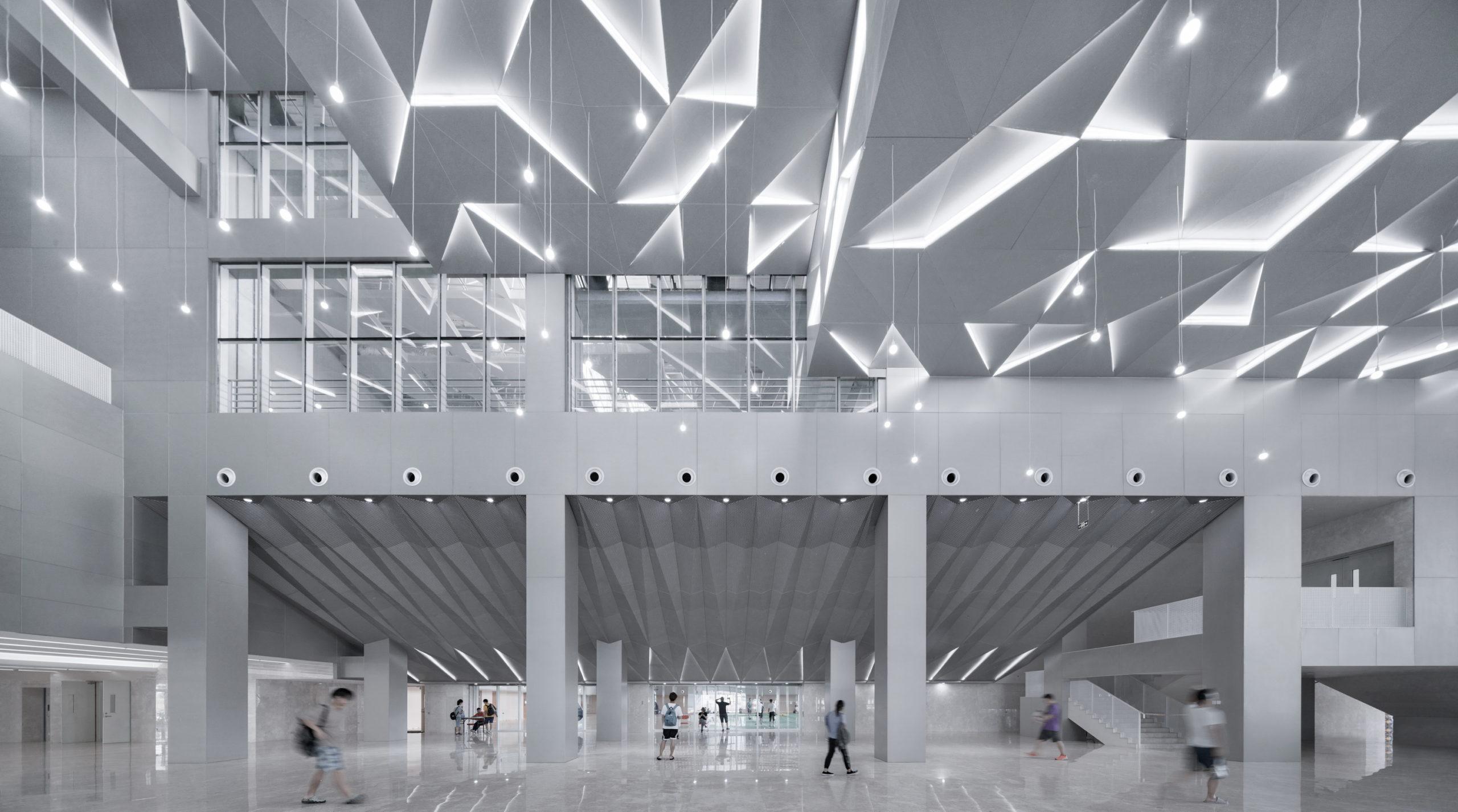 Stade emblématique BIT Sports Center par Atelier Alter Architects, Beijing, Chine
