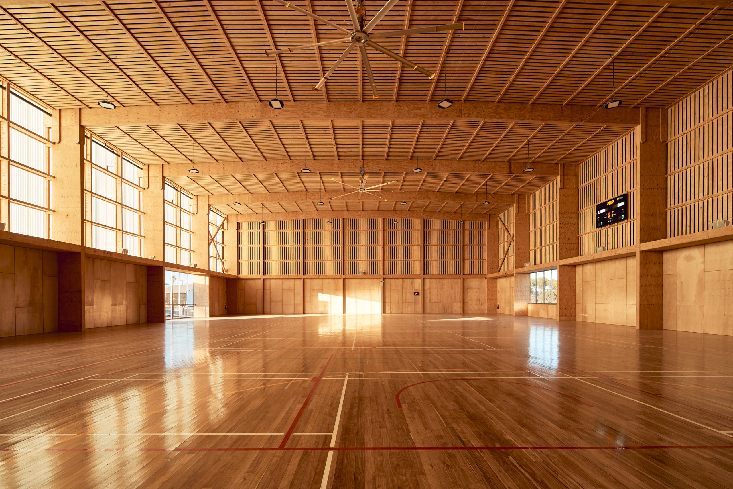 Les stades cultes Pingelly Recreation and Cultural Center par Iredale Pedersen Hook Architects avec ATC Studio, Pingelly, Australie