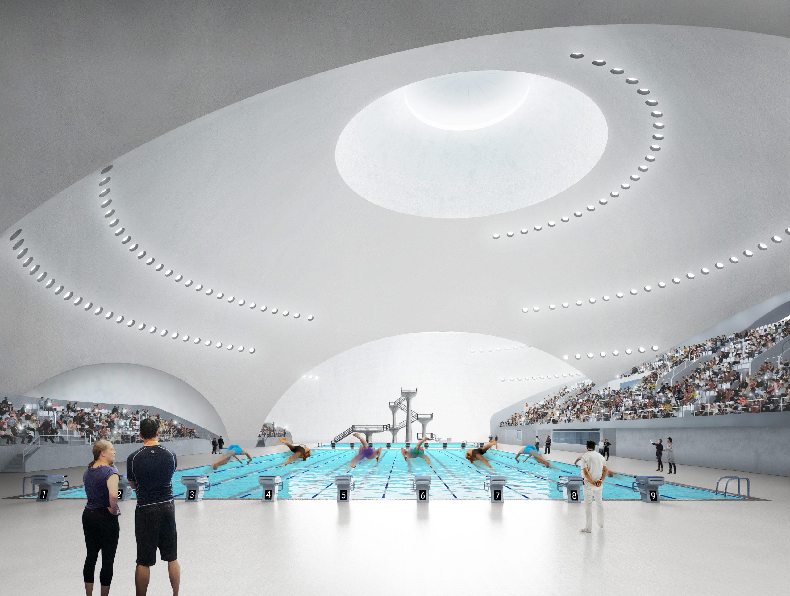 Stades cultes Campus sportif de Quzhou par MAD Architects, Quzhou, Chine