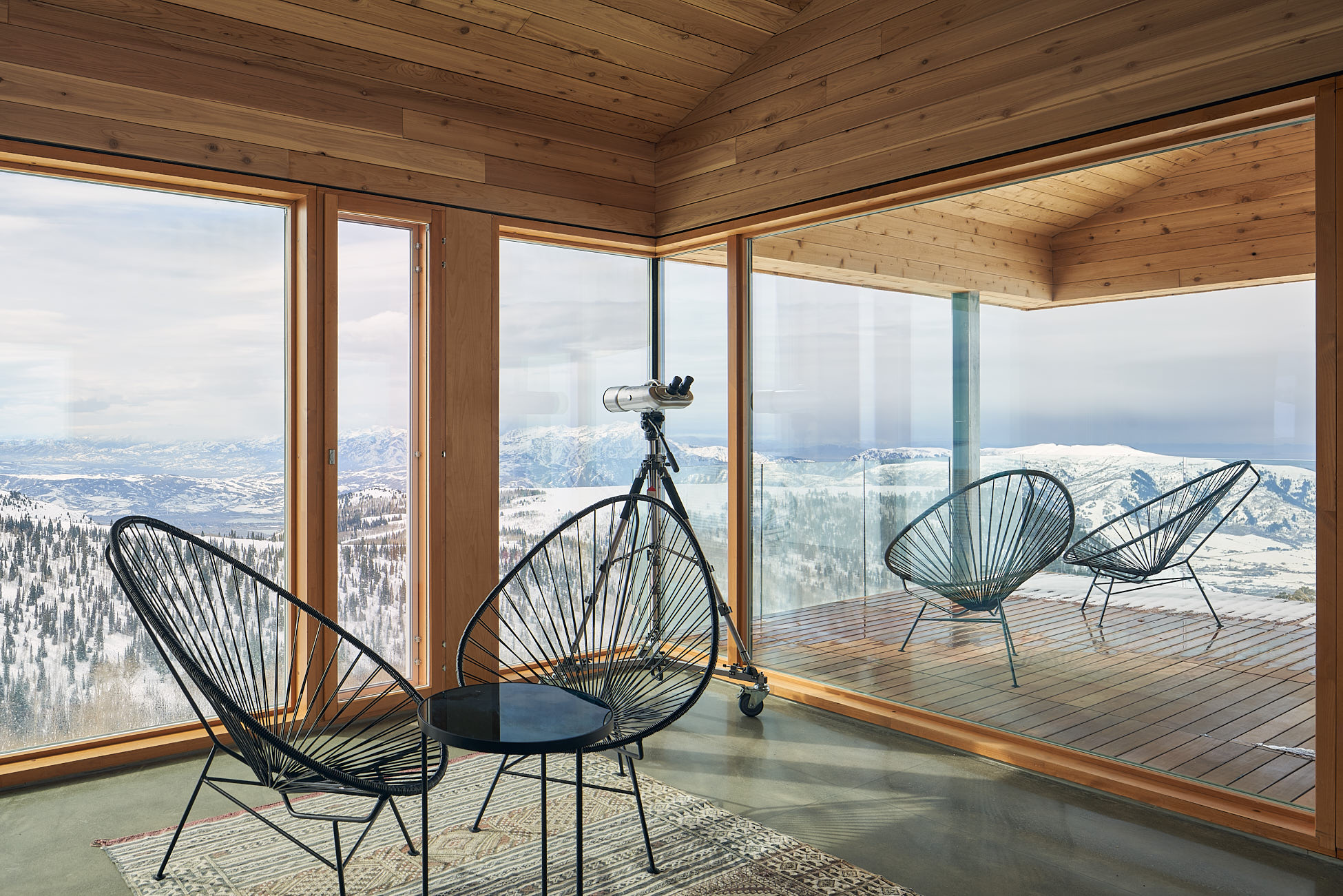 Photographie d'architecture chambre double MacKay-Lyons Sweetapple Architects