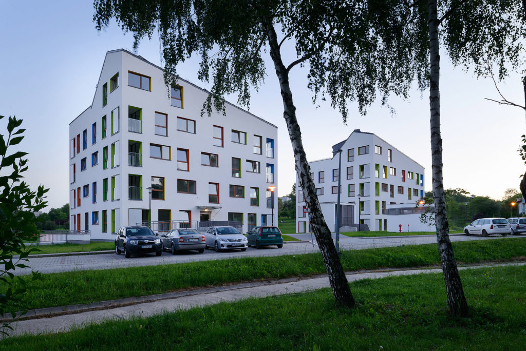Immeuble d'appartements NOWA Nowa Huta par ARCHITEKT.LEMANSKI, Cracovie, Pologne