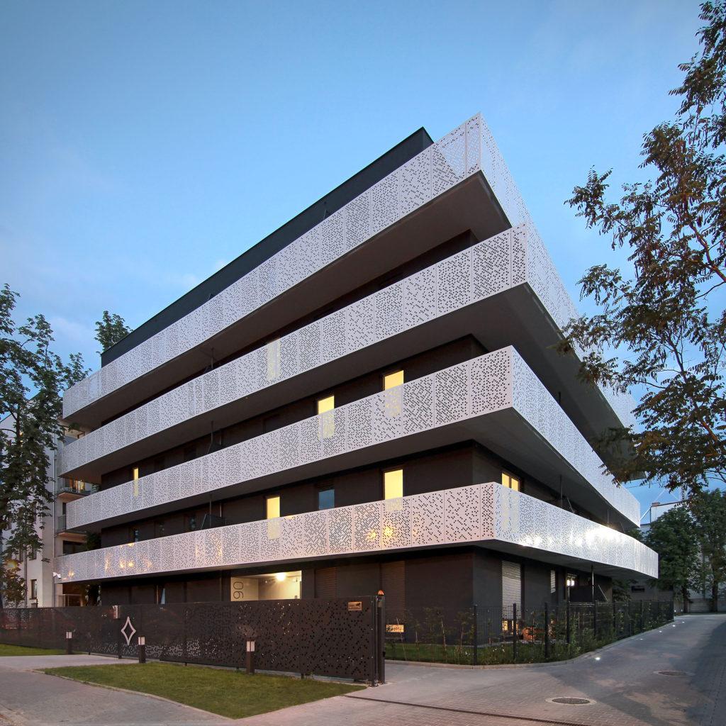 Immeuble d'appartements L'immeuble Górny Taras par Neostudio Architekci, Poznan, Pologne