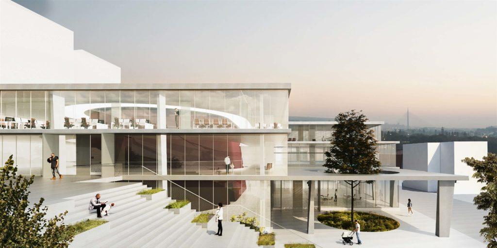 L'architecture serbe Kolo Kosancicev Venac remporte la proposition de concours