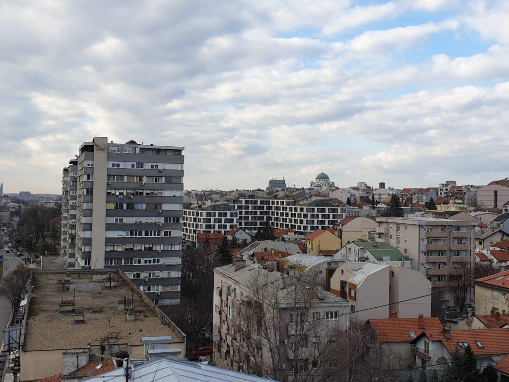Architecture serbe Merin Hill, Belgrade, photo de Milos Smiljkic