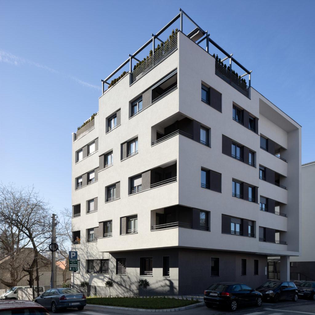 Architecture serbe Krfska 13, Belgrade, photo de Relja Ivanic