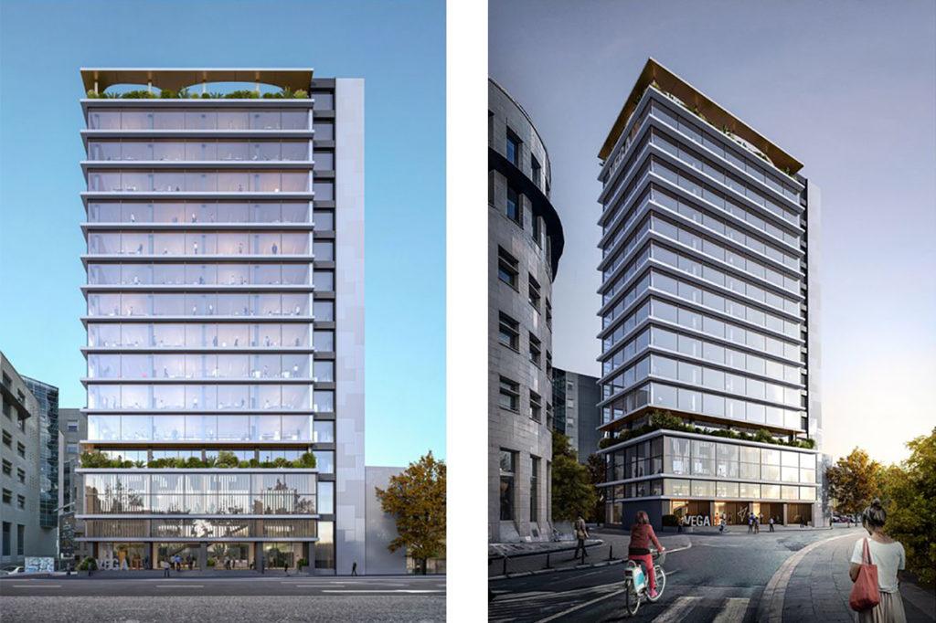 Proposition de concours d'architecture serbe Vega IT HQ