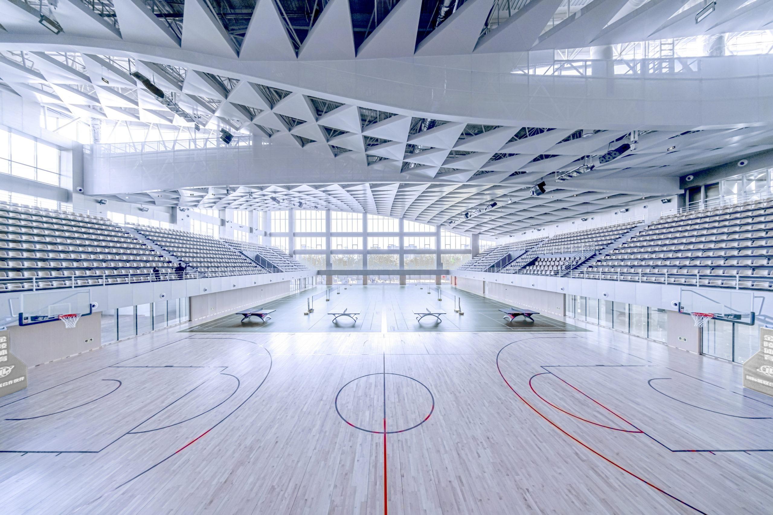 Stade emblématique BIT Sports Center par Atelier Alter Architects, Pékin, Chine