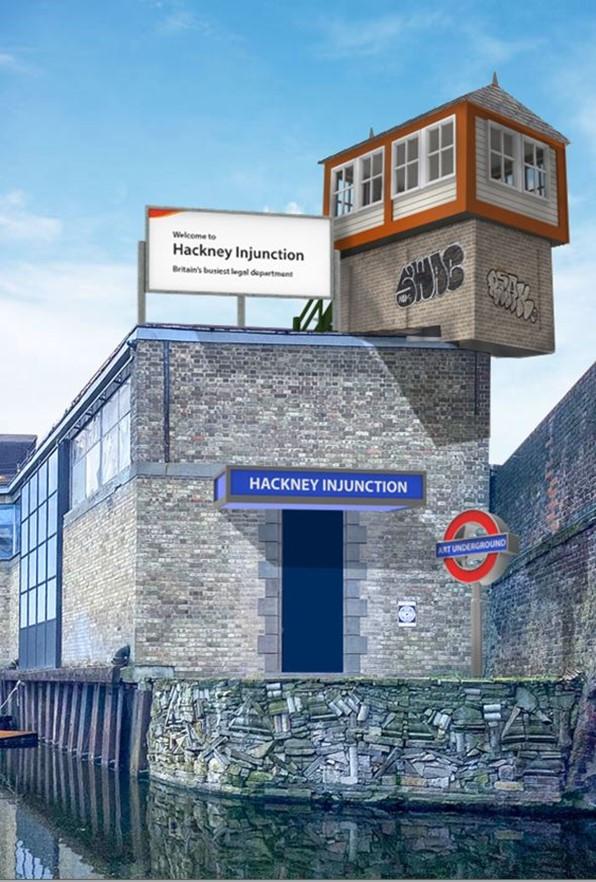 Injonction de Hackney par Mark Cunningham