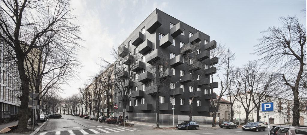 Immeuble UNIKATO par Robert Konieczny KWK Promes, Katowice, Pologne