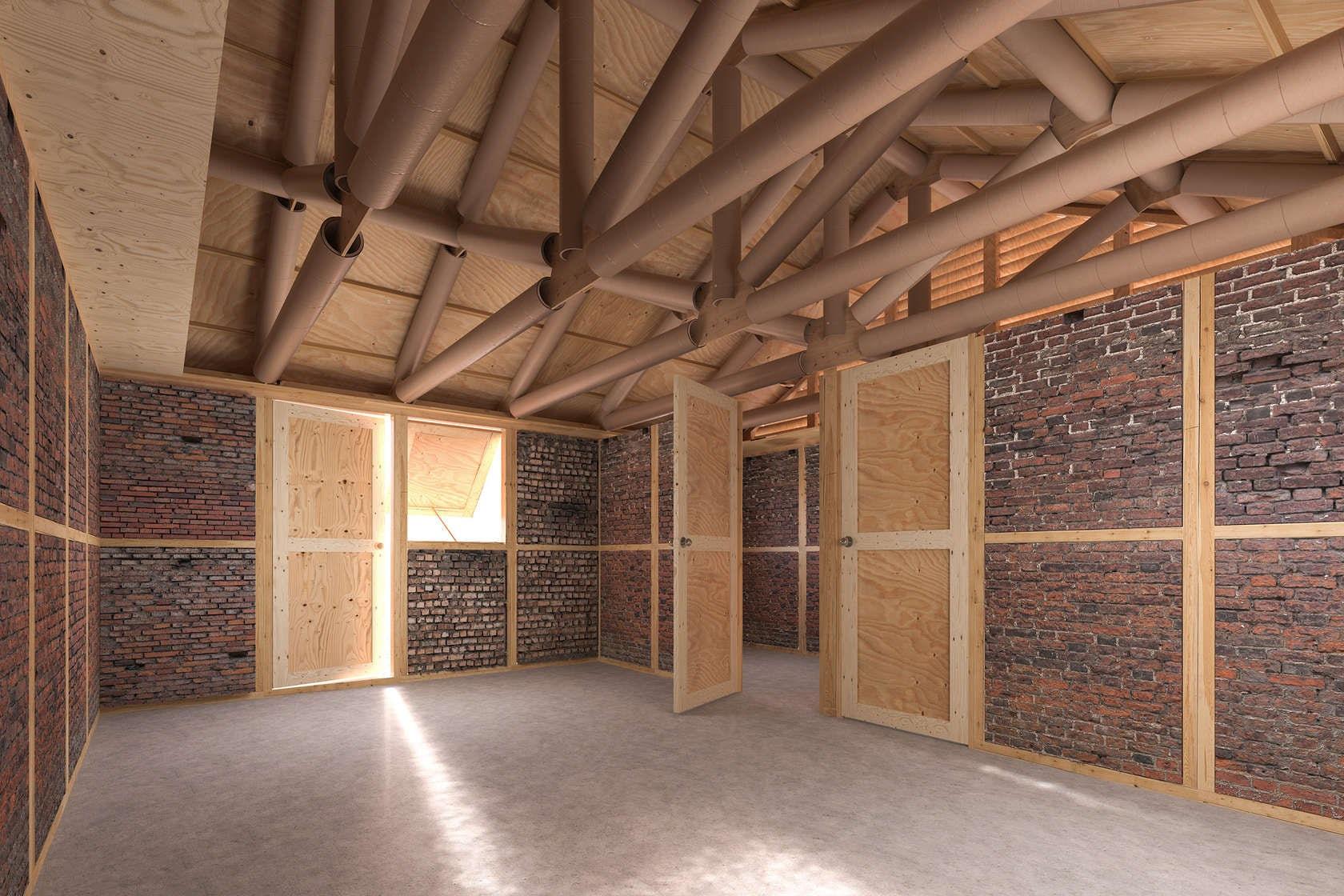 Vue intérieure du projet Népal