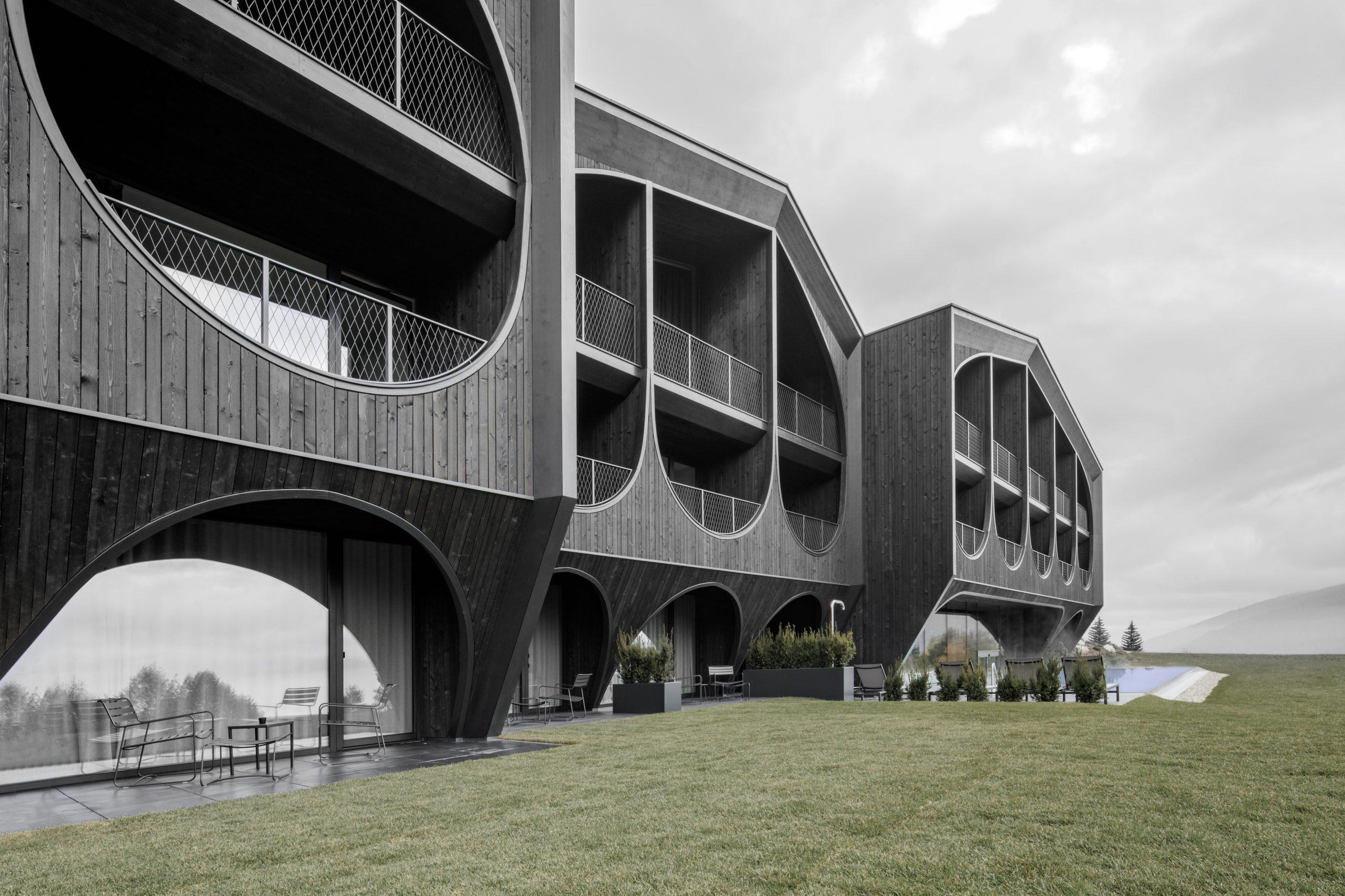 arch Hotel Milla Montis by Peter Pichler Architecture, Maranza, Italy
